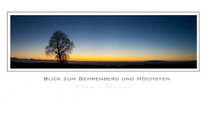 Blick zum Gehrenberg und Höchsten