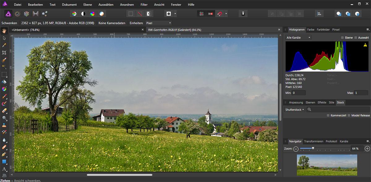Screenshot für den Fotokurs